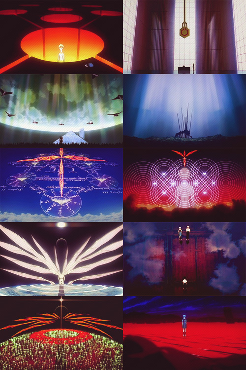 """The fate of destruction is also the joy of rebirth."" The End of Evangelion"