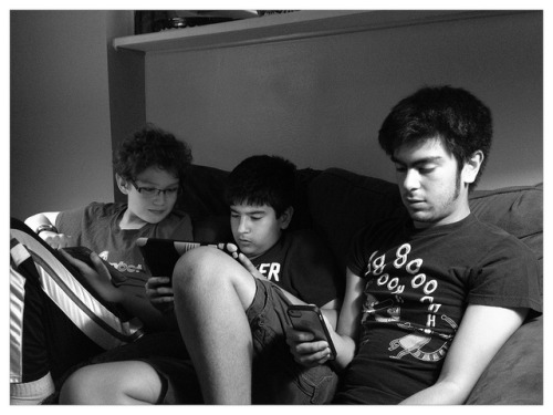 21st Century Primos…#Digital #tablets #gaming #interweb on Flickr.