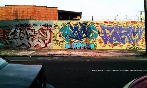 Quick Graffiti pic near my house @ 5th/Cecil in Philadelphia