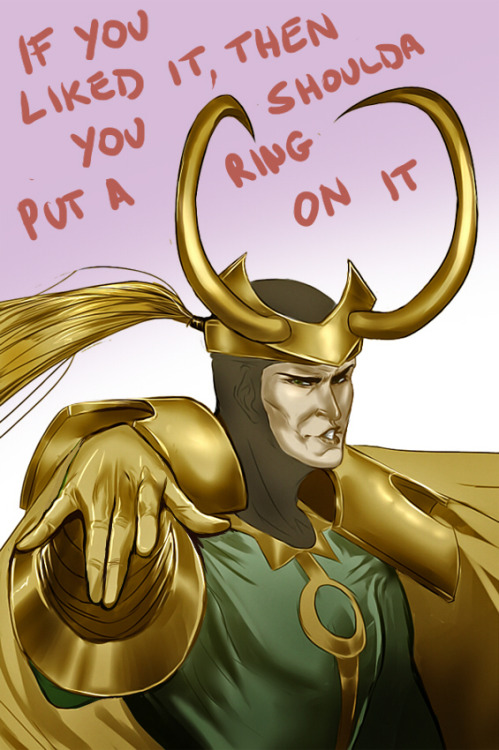 sexy-salmon-loki:  ALL THE SINGLE LADIES