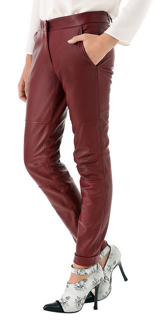 Bold And Flashy Leather Pants on Flickr.