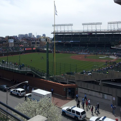 Rooftop  (at Wrigley View rooftop)