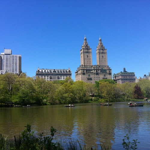 A day in the park @lethalballerina  (at Central Park - The Lake)