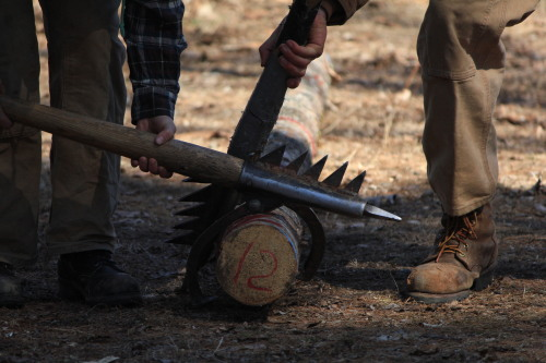 It's cool, my undergrad has a Woodsmen team. Maine, 2013