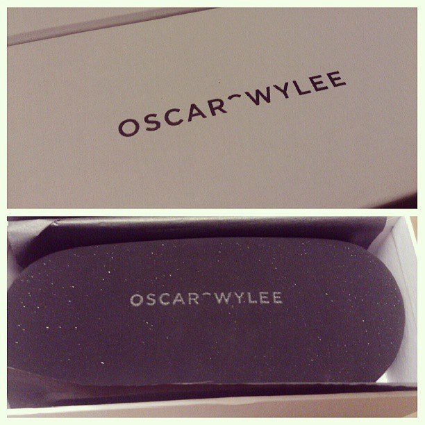 #oscarwylee glasses have arrived! Yay