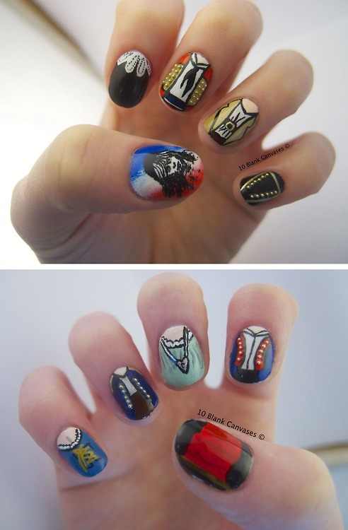 Les Miserables Nails