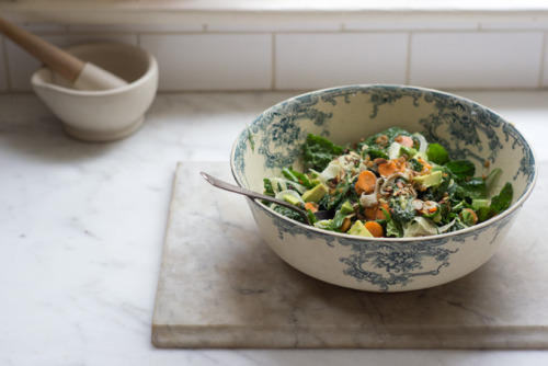 thenecromerchantsdebt:  Kale Market Salad from 101 Cookbooks. Click through for recipe.