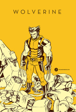 Wolverine! Drawing here. Original for sale here.