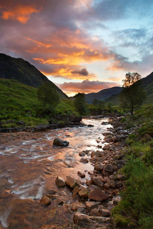River Etive by Michael Kirste Photography