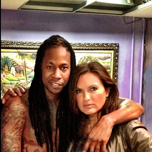 futurechainz:  2 Chainz and Detective Olivia Benson
