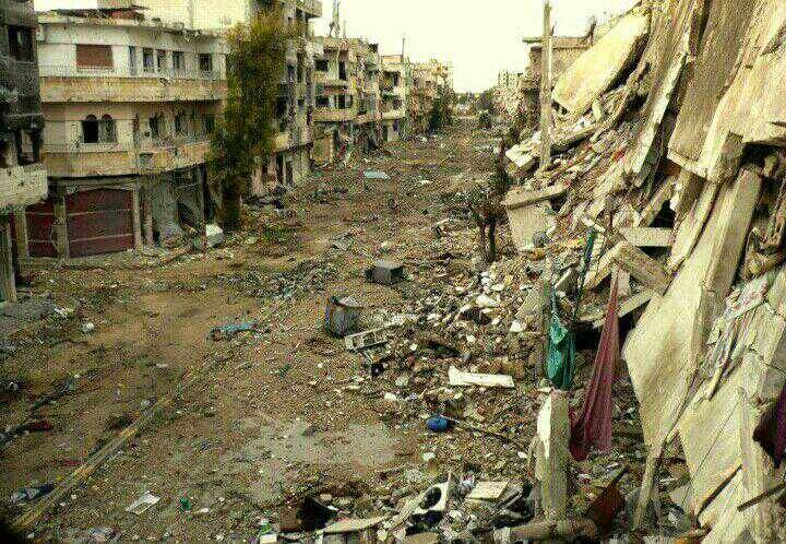 This is what it looks like to live in Syria.