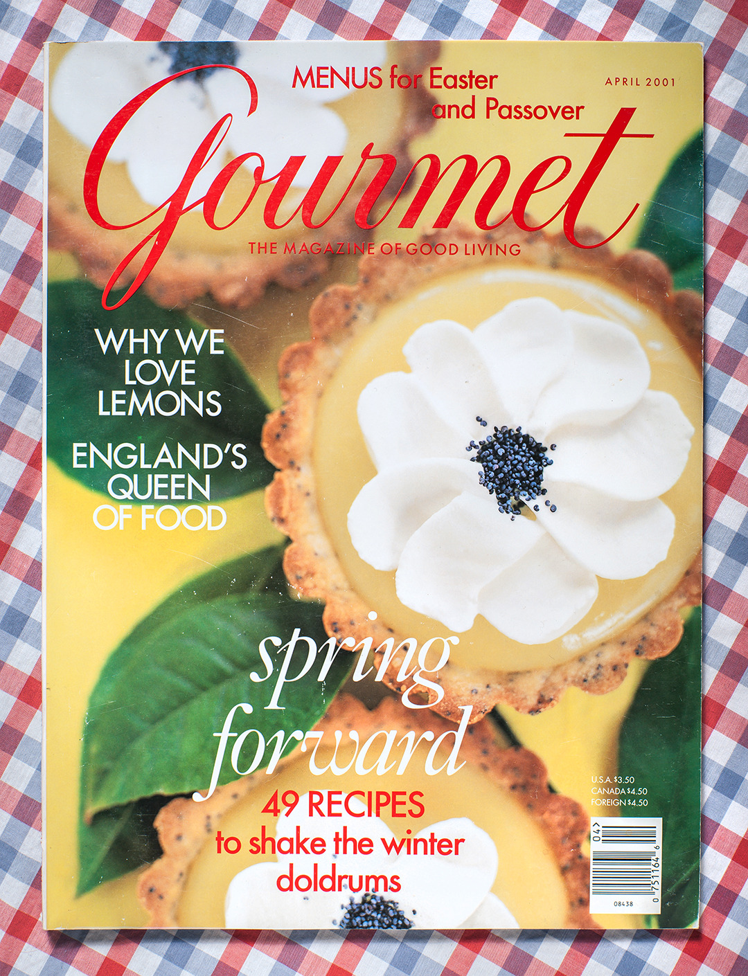 Gourmet: April 2001