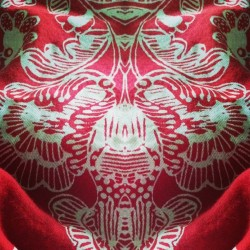#red #fabric #mirrorgram