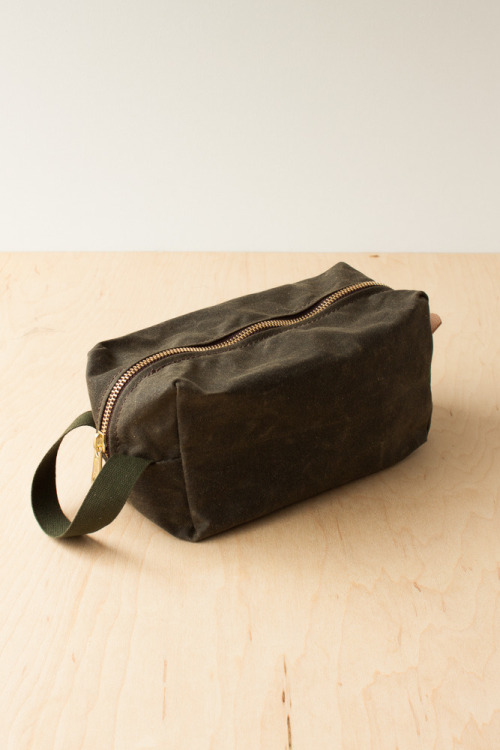 Strawfoot Dopp Kit - treat yourself.