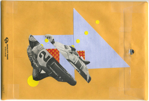 """Untitled"" cut and paste collage"