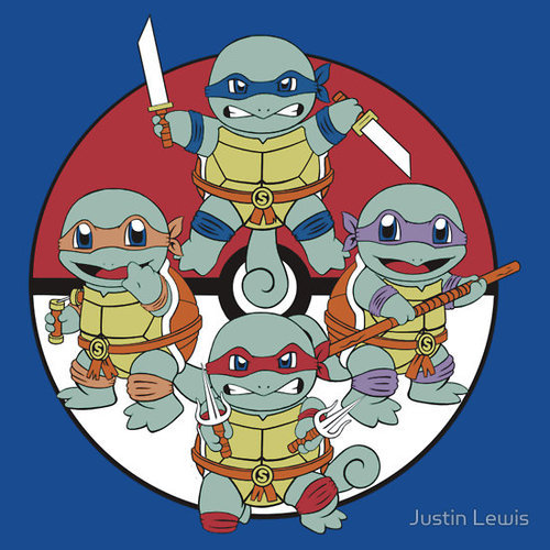 retrogamingblog:  Teenage Mutant Ninja Squirtles