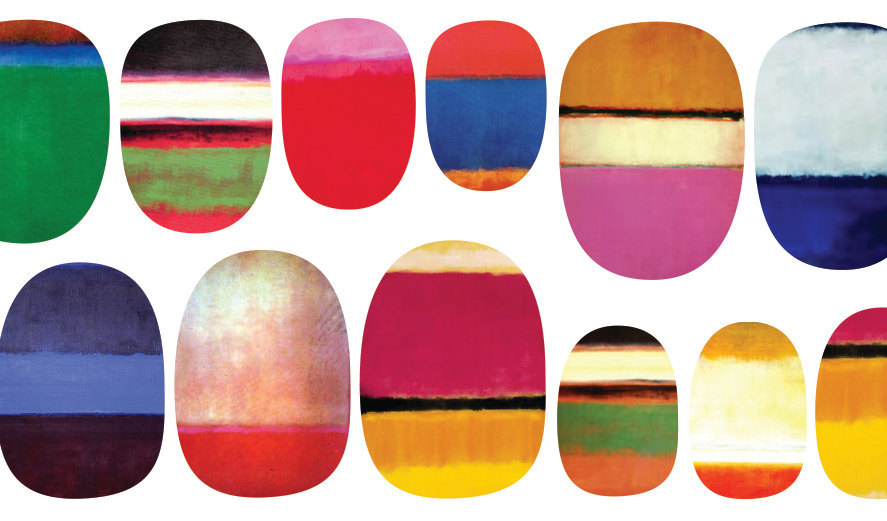 Thought I was well over nail art but I'm feeling these Rothko inspired nail decals from Etsy. (via tydepool)