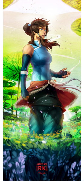 Korra: Realm of Spirits II by *Artipelago