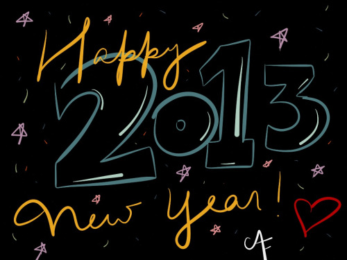 Angel Flores - Happy New Year! ((2013))