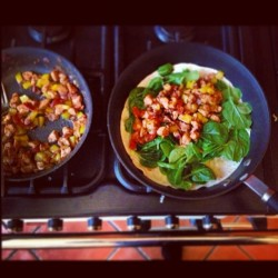 i love cooking👌#spinach #chicken