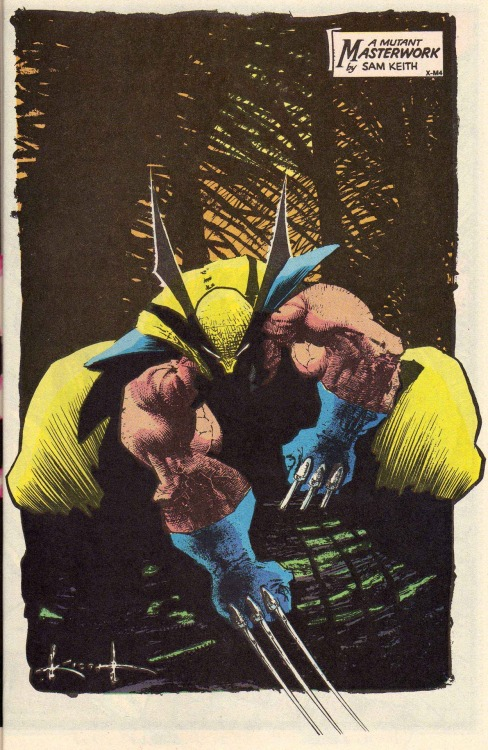 Wolverine by Sam Kieth