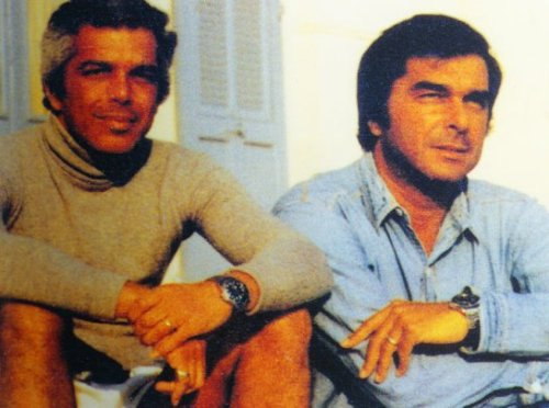 waxwane:  Ralph Lauren and Jerry Lauren wearing matching Rolexes (via Jerry Lauren – Ralph's (Better Dressed) Older Brother)
