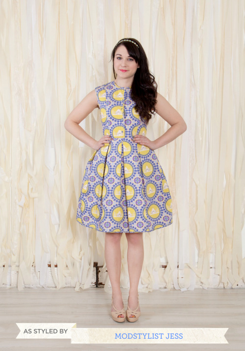 modcloth:  Have you ever looked at a piece of clothing and instantly been in awe? That's exactly how I felt after laying my eyes on The Novel Destination Dress by designer Charlotte Taylor. From unique quilted texture to amazing color pairings, and a fabulous silhouette, this dress has it all!  <3 Jess, ModStylist Need styling suggestions, trend tips, or dress details? Ask a ModStylist and your question might be featured on our feed!