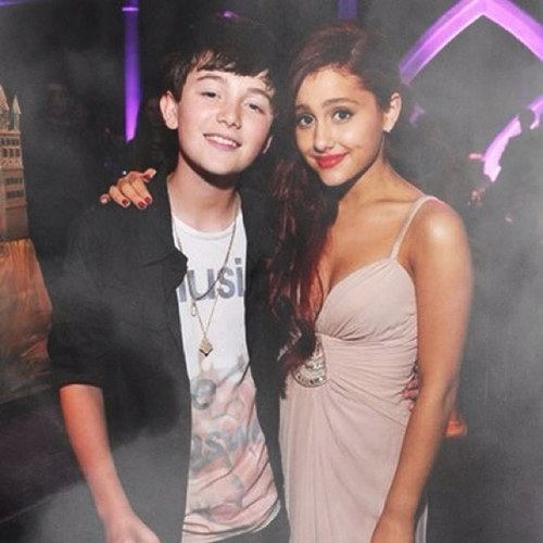 Grey with Ari. Searching for more Greyson pics? Click here.