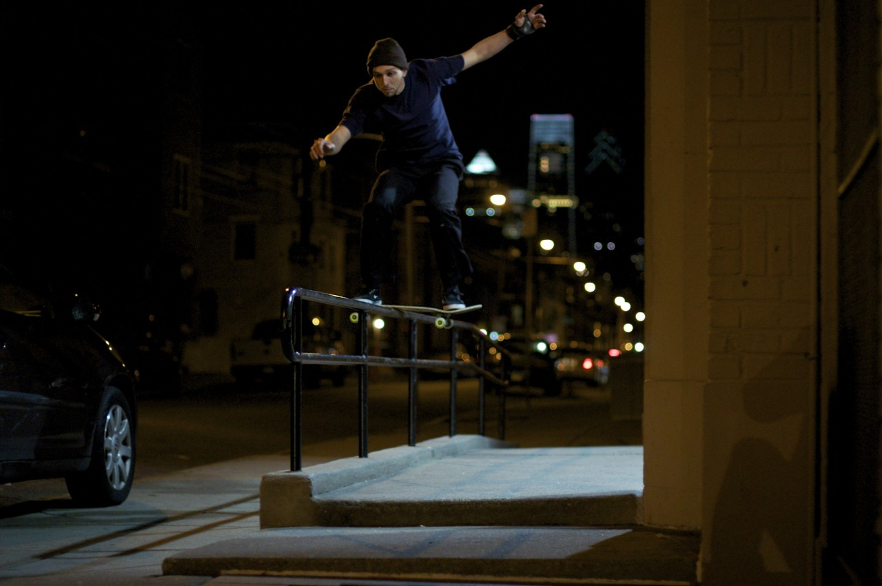 Joe Marchese Boardslide South Philadelphia 1/18/2013