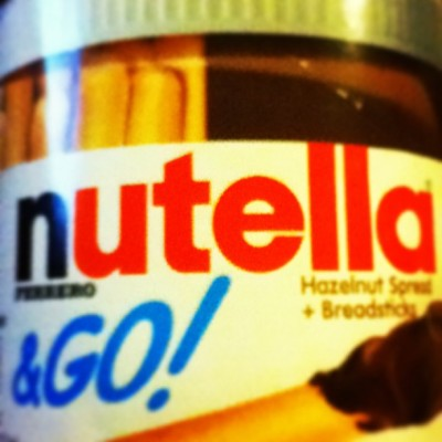 #nutella #addicted #hazelnut #chocolate #snack #breadsticks #foodporn #instafood #yummy #sweet #delicious #teamandroid