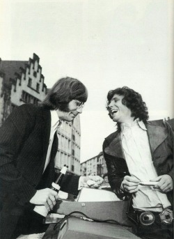 Ray Manzarek & Jim Morrison, together again. Rest in Peace