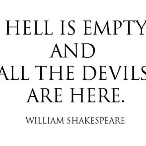 Good job #onpoint #truestory #thatsit #williamshakespeare #devils