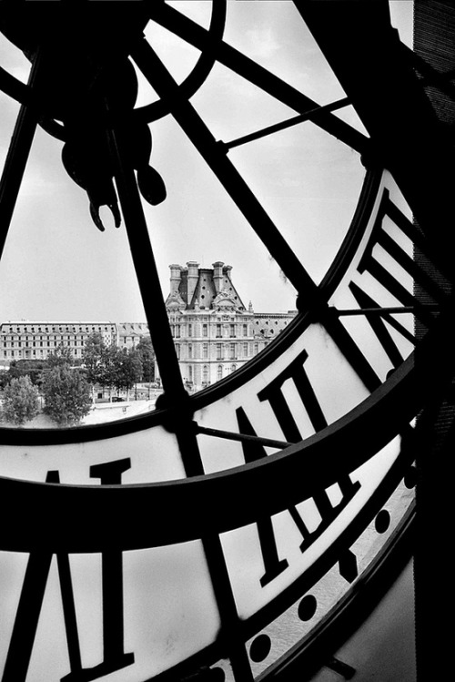 jblogonline:  Paris view from a clock