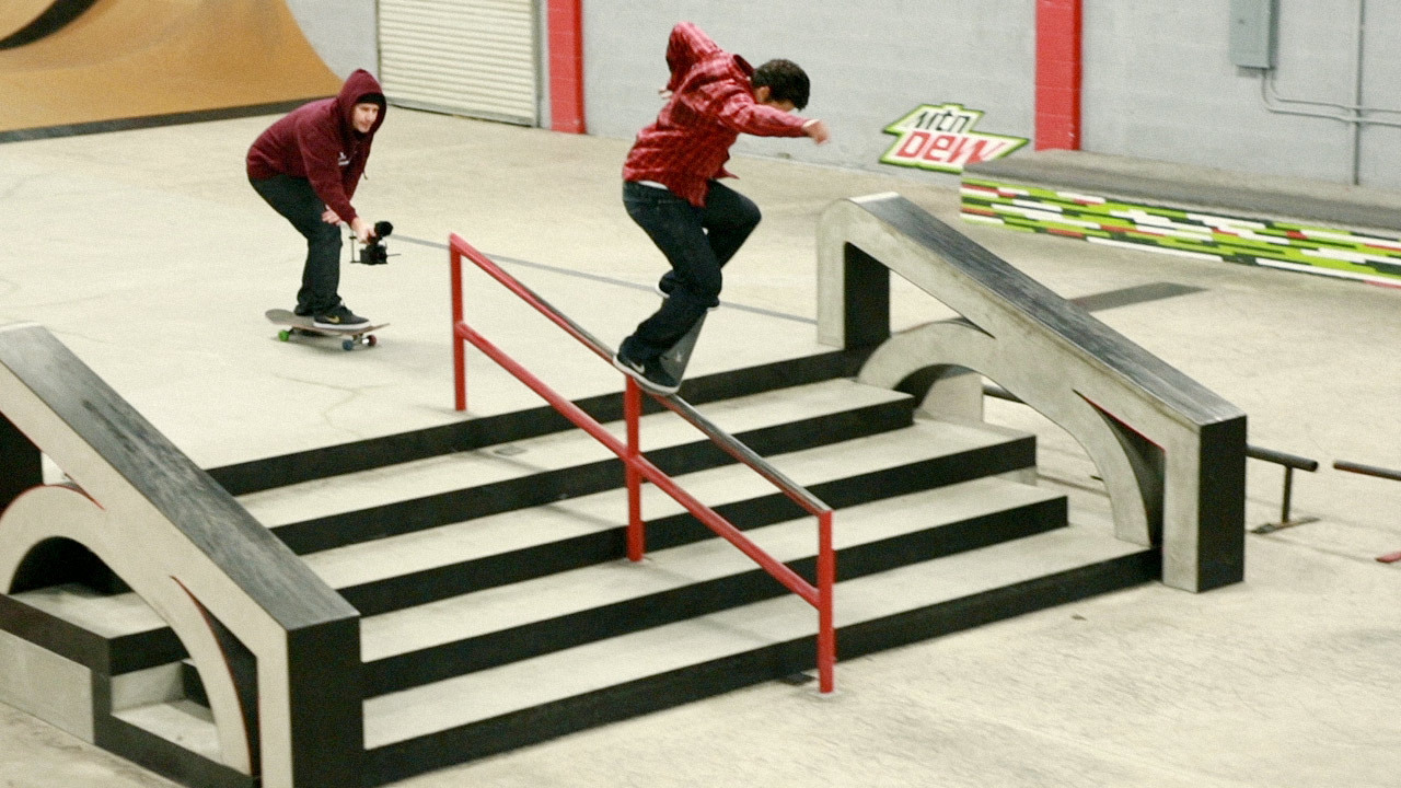 "Paul Rodriguez attempts to recreate his City Stars ""Street Cinema"" part in just 24 hours. Watch LIFE episode 6, part 1 by clicking this photo!"