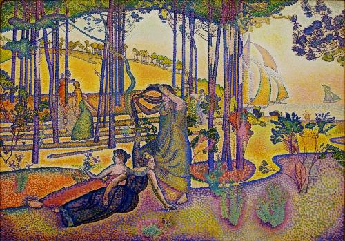 The Evening Air, Pierre Bonnard