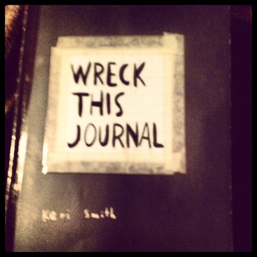 #photochallenge #photooftheday #may #book #wreckthisjournal  #wtj @sabbie1387 @katiebug3555 we need to continue or start new!!!