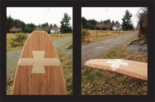 growanthology:  Grow is coming out with a new bamboo longboard! It will be Forest Stewardship Council (FSC) certified of course and will most likely be super awesome.They developed a new kicktail structure that is rock solid and looks pretty cool to boot.
