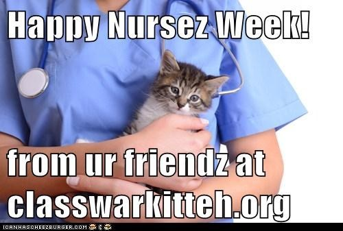 We love nursez! (but pleze, no needles)
