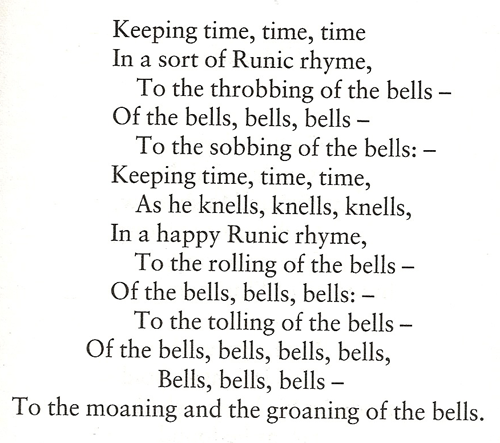 The Bells by Edgar Allen Poe