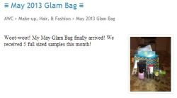 #ArmyWife Rodneya aka @NeyaV reviews the May 2013 Glam Bag from @Ipsy  Read/Watch More —->  http://armywivesclub.blogspot.com/2013/05/may-2013-glam-bag.html