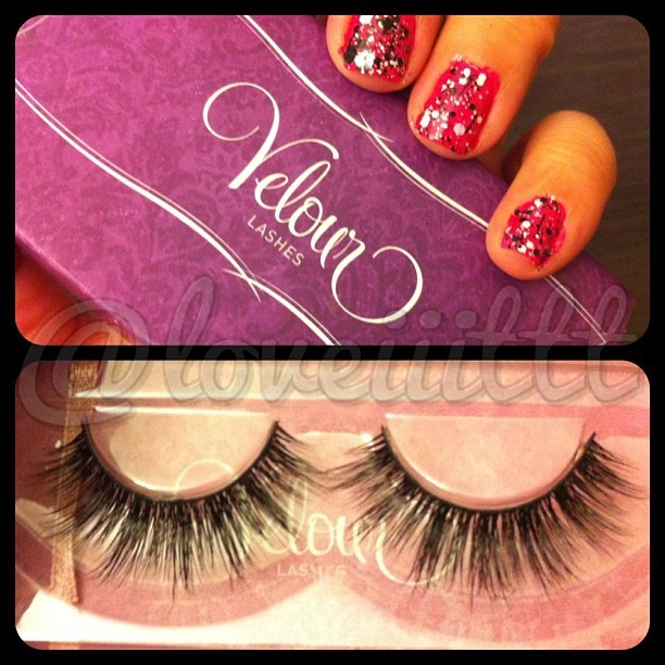 A closer look at dem #VelourLashes for yuhh bruhh…  Velour Lashes in Doll Me Up 💁💁🙌🙎💬#ohyoufancyhuh? #noNOTREALLY lol  #dollmeup#minklashes#lashes#dolllashes#falsies#partofmy#imatshaul2013#mua#loveiiittt#makeupartist#minkfalsies#lashonlashonlash#sonnnnnn