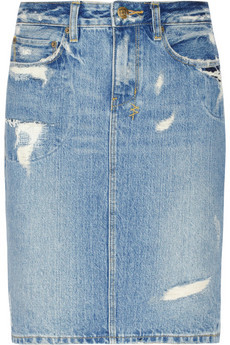 Currently obsessed with #Ksubi Distressed denim skirt @NET A PORTER