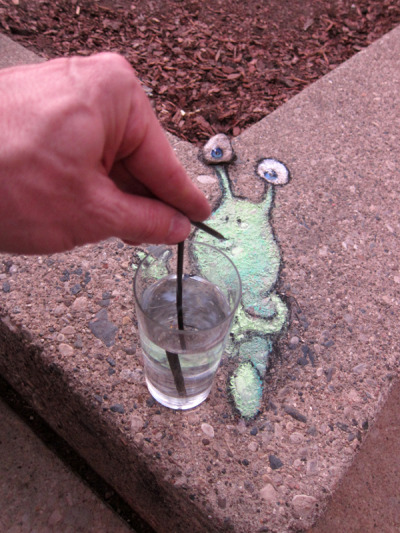 sluggoonthestreet:  Sluggo tried to order something stronger than water, but it's hard to get served when you can't even reach the straw by yourself.