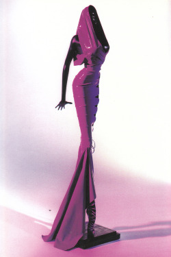 Sculpture of Grace Jones in Azzedine Alaïa by Thierry Perez