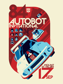 "prettyclever:   ""AUTOBOT Invitational"" Transformers – Tom Whalen"