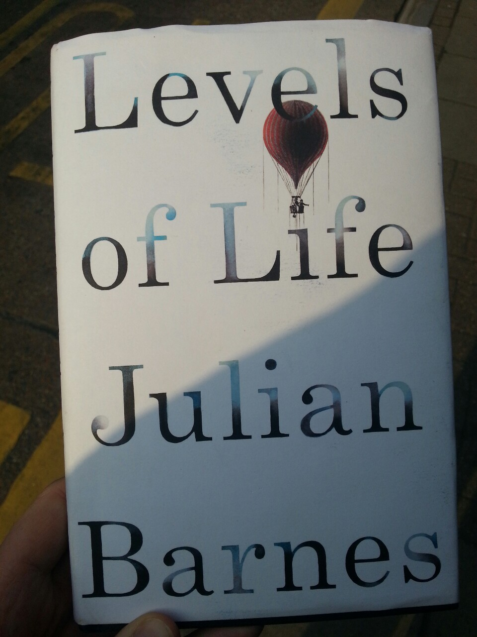 Finished Julian Barnes' new book yesterday. It made me cry. The first half is rather odd, the second half pulls it all into perspective and gets you in the tear ducts.