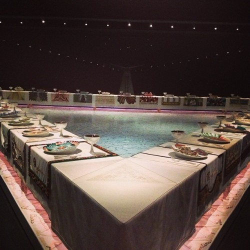 Judy Chicago - Dinner Party