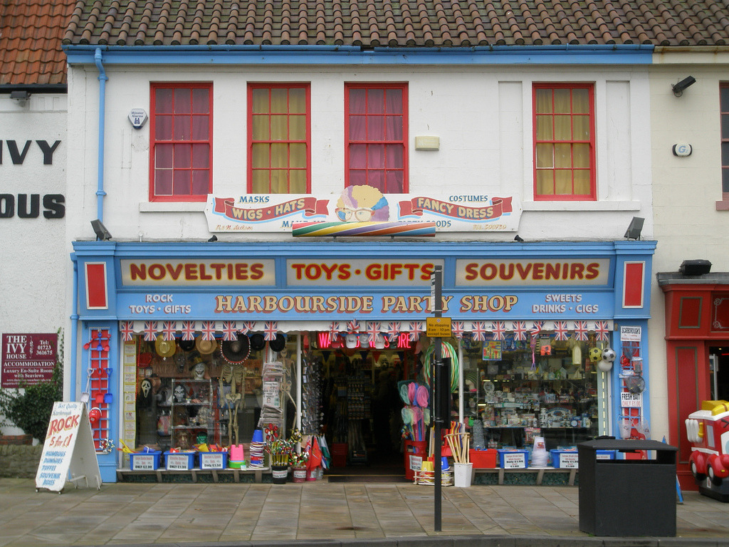 Harbourside Party Shop, Scarborough