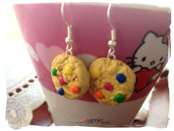 cateaclysmic:  Candy Cookie Earrings ♥ Cateaclysmic Crafts ♥