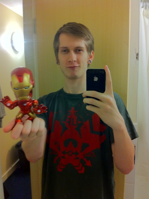 My fucking sweet Ironman bobblehead